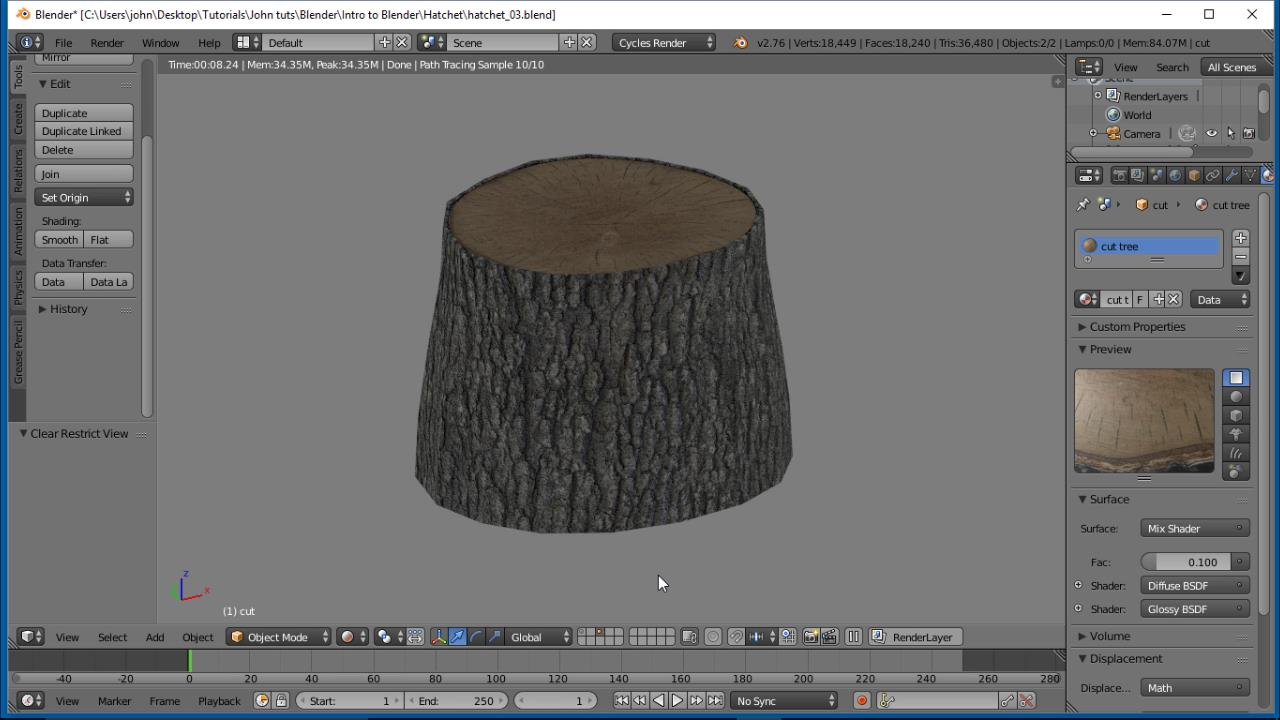 Apply What You Know: Tree Stump